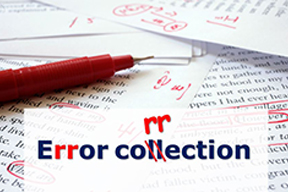Use of Error Correction