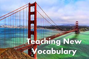 Teaching New Vocabulary