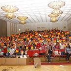 Зустріч з автором підручника «Focus» - Vaughan Jones. 1500 вчителів з усієї України