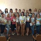 37 вчителів англійської мови пройшли навчання на курсах підвищення кваліфікації у місті Новий Буг
