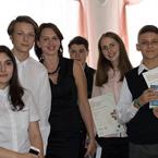 Нагородження кращих учнів, що  склали іспит РТЕ