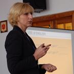 Представник міжнародного освітньо-методичного центру Пірсон-Дінтернал Світлана Малетич провела практикум з підготовки учнів до ЗНО 2016